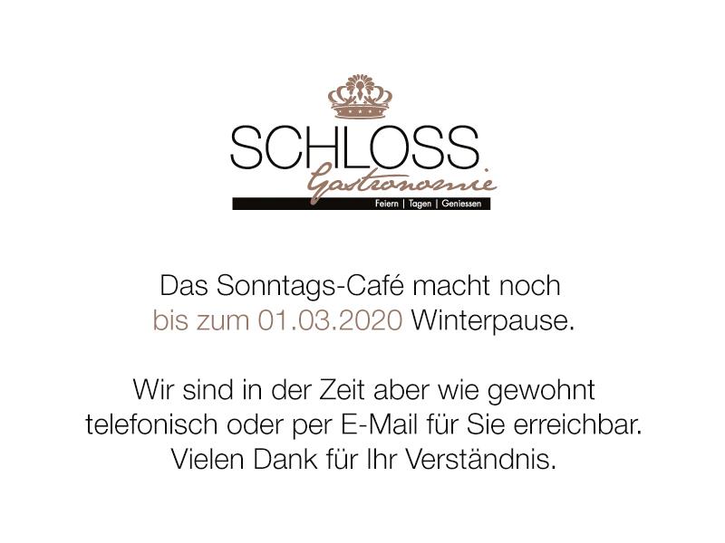 Schloss Gastronomie - Popup (29.01.2020)